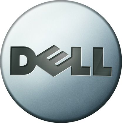 Dell logo circa 2008