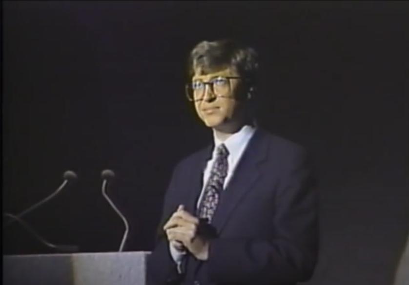 Bill Gates Comdex 1987